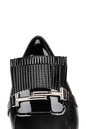 Tod's Mujer Zapatos Cuero Altos Mcglcat000005095e Negro rP7Uwqzgr