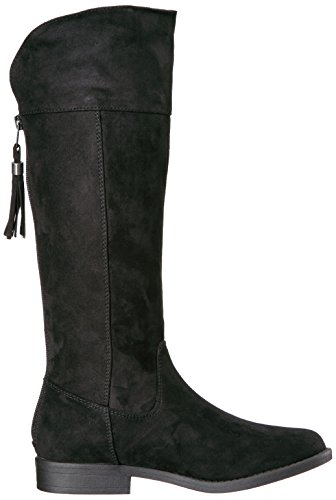 Sugar Girls' Powdered Pull-on Boot, Black Suede, 13 M US Little Kid by Sugar (Image #7)