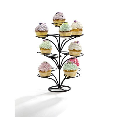 Large 13 Cupcake Holder Color: Black