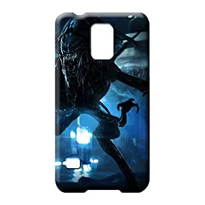 samsung galaxy s5 mobile phone covers Fashionable Ultra Awesome Phone Cases aliens colonial marines 2013 game