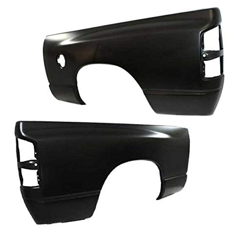 Koolzap For 02-09 Ram Truck w/6' Bed Rear Fender Outer Quarter Panel Left Right SET PAIR