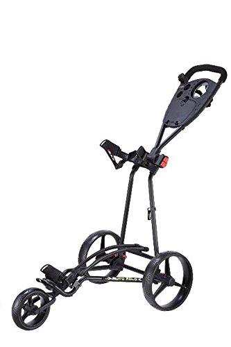 Big Max Autofold Golftrolley.Big Max Ti 1000 Autofold Golf Trolley Color Black Amazon