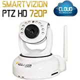 Aquila Vizion Smart Vizion Ptz HD 720p Caméra IP Blanc