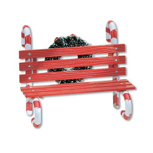 Department 56 Village Candy Cane Bench