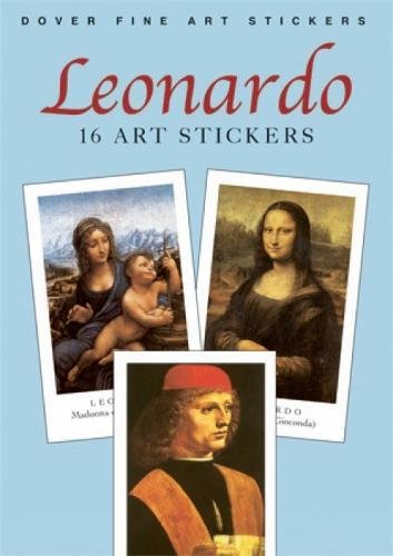 Leonardo 16 Art Stickers Dover product image