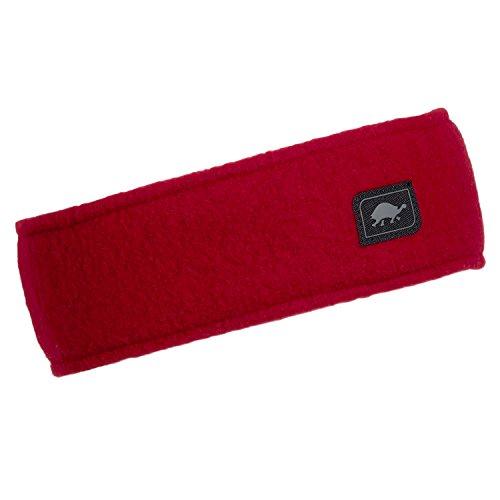 Original Turtle Fur Fleece headband, Red, One Size