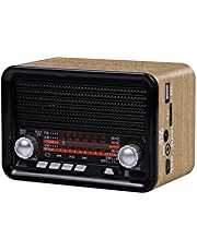 Radio Old Man NS-1538BT Full Band- Rechargeable- Bluetooth Player -Portable