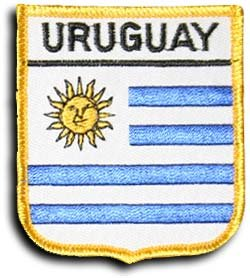Uruguay - Country Shield (Uruguay Flag Patch)