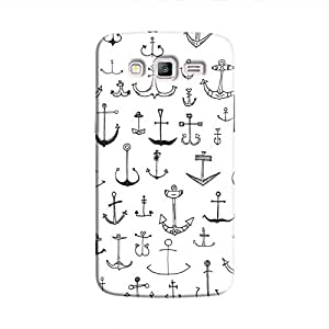 Cover It Up - Drawn Anchors Galaxy J2Hard Case