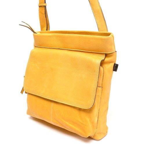 Berba - Bolso cruzados para mujer Amarillo amarillo