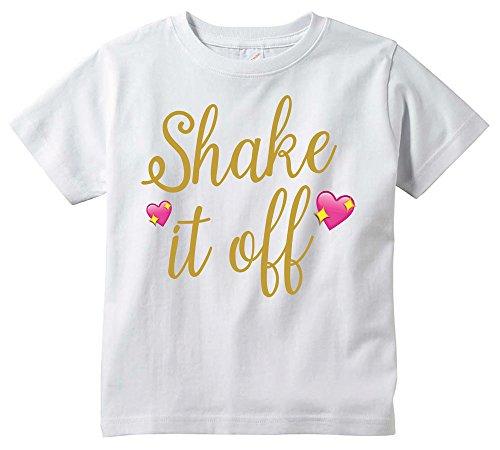 Shake it Off T-Shirt Youth Size (X-Large) White