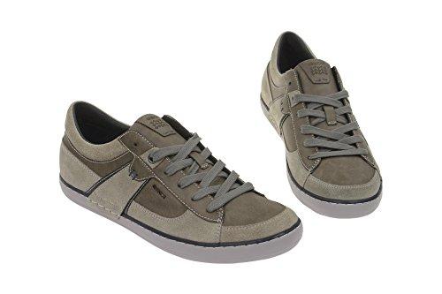 Geox Men's U44R3C 022MEC1006 Classic Lace-Up Half Shoe Hell-Grau uLAQkhPLH
