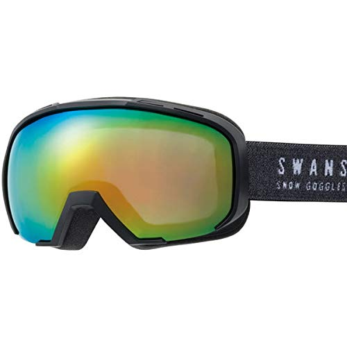 SWANS(スワンズ) スワンズ スキーゴーグル 080-MDHS マットブラック(18-19 2019)SWANS ゴーグル【C1】