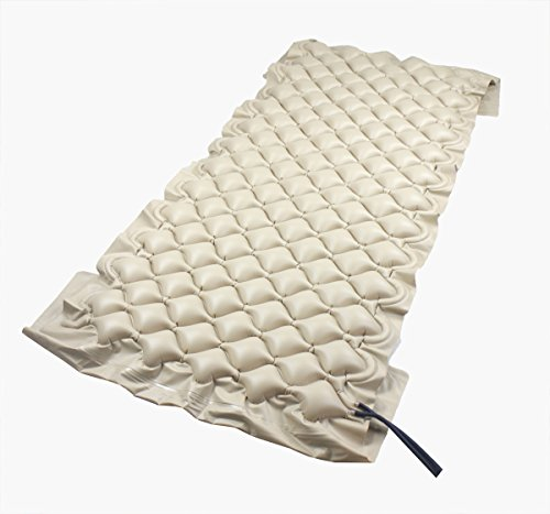 ObboMed® MA-6100 Air Alternating Pad/overlay with Pump System, Variable Pressure with End Flaps, Fits Standard Hospital bed, Size 78 x 34 inches / 200 x 90 cm