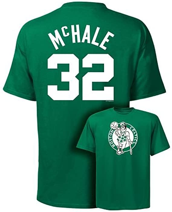 fd72baa02 VF Boston Celtics Kevin Mchale Throwback Majestic Shirt (Small) Green