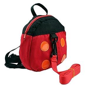 Vikenner Toddler Children Anti Lost Backpack with Walking Reins Baby Safety Harness Rucksack Kids School Shoulder Bag…