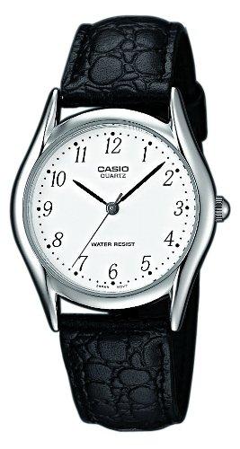 Casio Reloj de Cuarzo con Correa de Cuero MTP-1154E-7: Amazon.es: Relojes