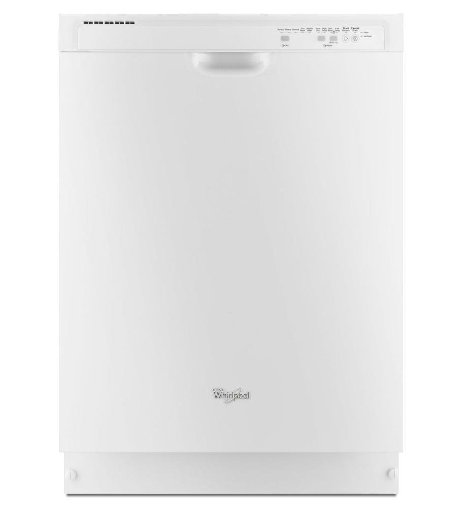 Whirlpool White Built-In Dishwasher