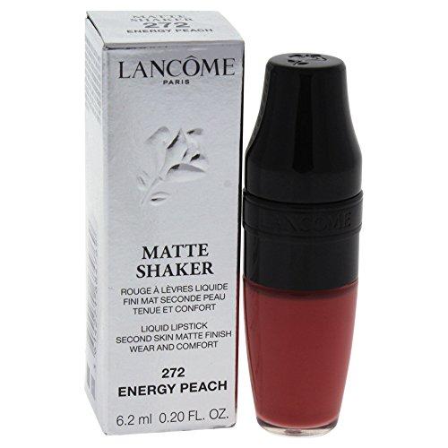 Lancome Matte Shaker Liquid Lipstick, Energy Peach, 0.2 Ounce