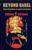 Beyond Babel, Brenda maddox, 0671214365