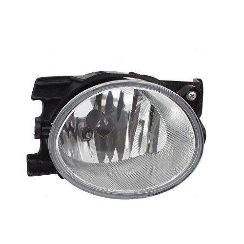 Drivers Fog Light Lamp Lens Unit Replacement for 09-11 Honda Pilot 33951SZA305