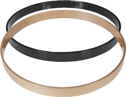 Gibraltar SC-22BK 22 Inch Maple Bass Drum Hoop Black