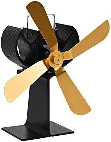 ストーブファン、暖炉のファン、熱風循環のための動力、熱、スーパー静か