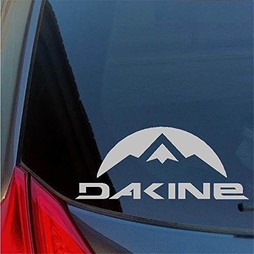 eurntgd Vinly Art Decal Words Quotes Car Decal Car Sticker Dakine Sticker Decal Da Kine Snowboarding Gloves Leash Stomp Pad Hawaii 15Cm