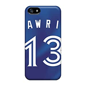 Iphone 5/5s PyS4335jJkk Customized Realistic Toronto Blue Jays Pattern Excellent Hard Phone Cover -PhilHolmes