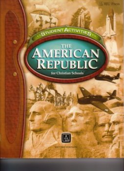 The American Republic for Christian Schools (Student Activities)