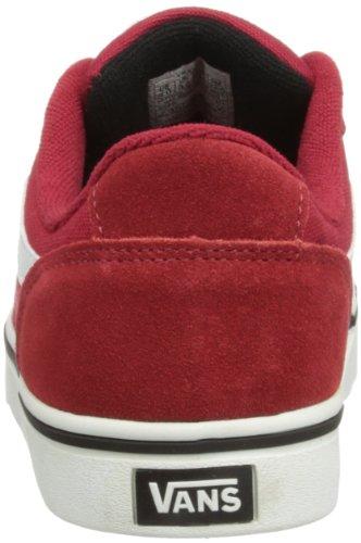 Vans Y Transistor (Suède) Vkxvc5i - Zapatillas para unisex-niños, color gris, talla 27 Rojo (Rouge (Chili P))