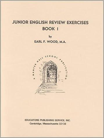 Junior english review