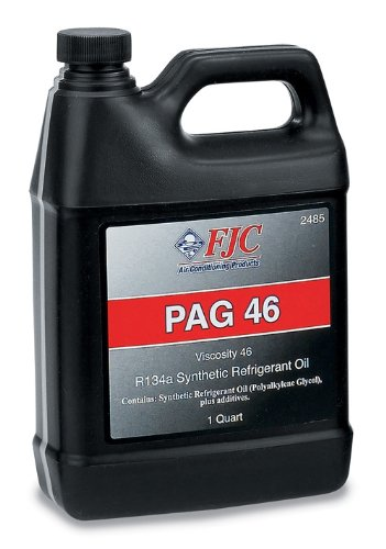 FJC 2485 PAG-46 - Synthetic PAG Refrigerant Oil for R134a; Quart Bottle