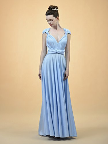 Forest Casual Maxi Dresses Women Prom Dress Formal Evening Alicepub Long for Convertible Pv6qvB
