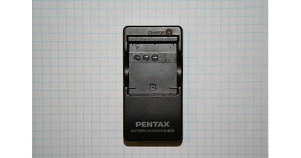Amazon.com: Cargador de batería Pentax d-bc8 (a) para la ...