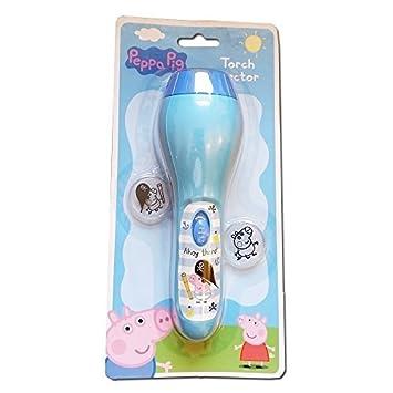 Peppa Pig George azul noche del proyector de la linterna con 2 ...