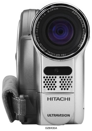 amazon com hitachi dz bx35a dvd camcorder with 25x optical zoom rh amazon com