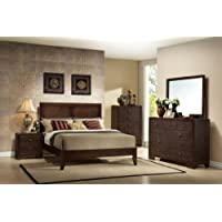 ACME 19564CK Madison Bed, California King, Espresso Finish
