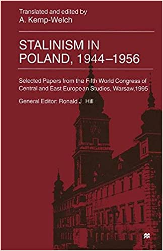 Stalinism in Poland, 1944-56: Selected Papers from the Fifth