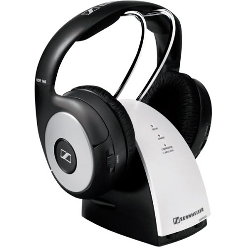 Sennheiser RS 140 Wireless HiFi Headphone with Dynamic Compression System (Discontinued by Manufacturer)