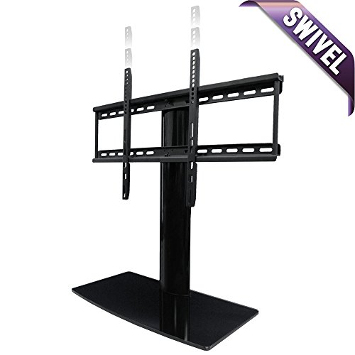 Universal TV Stand for TV with swivel and height adjustment ()