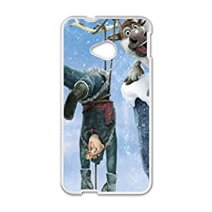 Christmas Frozen HTC One M7 Cell Phone Case White DIY Present pjz003_6604702