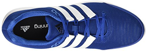Trainers adidas Mens Lite Shoes Runner Blue Blue Running xRavWqSaw7