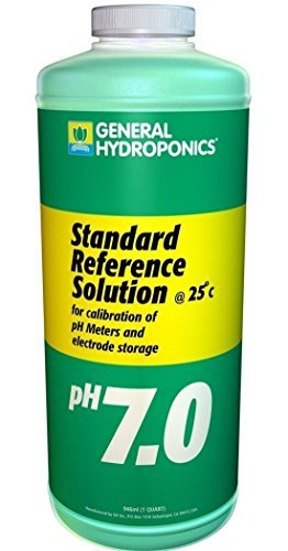 1-Pc Remarkable Modern GH Calibration SolutionsHighest Quality Reliable Results Hydroponics pH pH7.01 Volume 32 oz