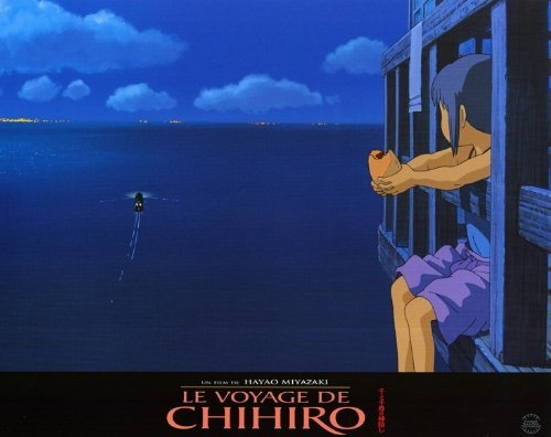 Spirited Away POSTER Movie (11 x 14 Inches - 28cm x 36cm) (2002) (French Style H)