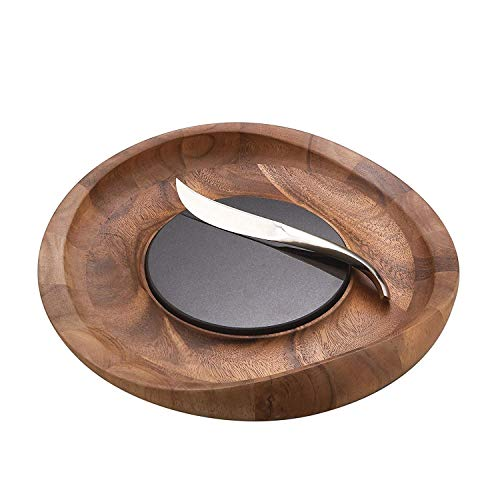 Nambe Butterfly Cheese Tray with - Board Cheese Beechwood