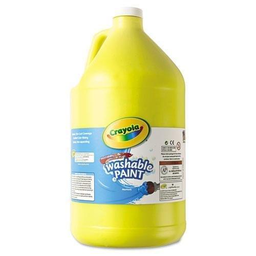 Crayola. 542128034 Washable Paint Yellow 1 gal