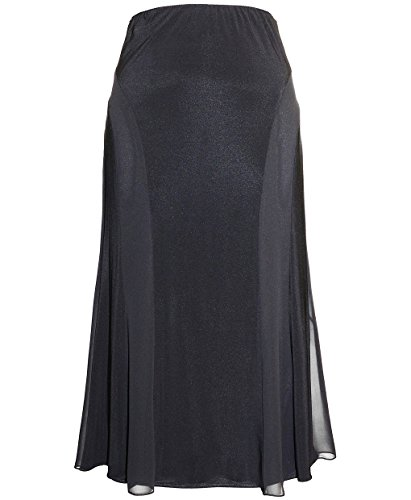 Plus Size Alex Evenings 4351112 Skirt --Size: 1x Color: Black