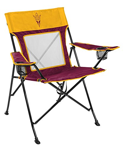 Rawlings NCAA Arizona State Sun Devils Unisex 00643001111NCAA Game Changer Chair (All Team Options), Red, Adult - Arizona State Tailgate