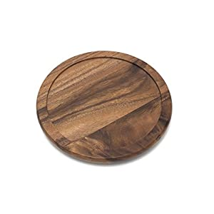 Lipper International Bamboo 14-Inch Turntable